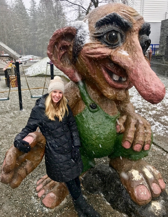 Trolls are huge in Norway.